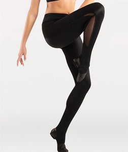 Body Wrappers Tween Mesh Insert Stirrup Pant