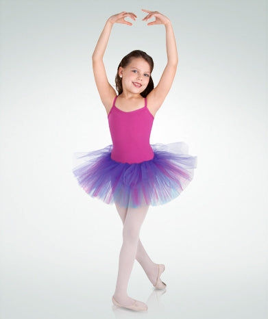 Body Wrappers Child Tri-Tone Tutu Skirt