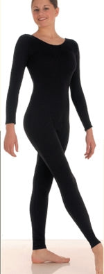 Body Wrappers Adult Long Sleeve Nylon Dance Unitard