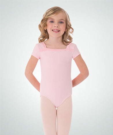 Body Wrappers Girls Cap Sleeve Leotard