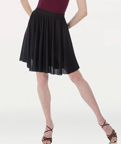 Body Wrappers Women's Above-the-Knee Circle Skirt