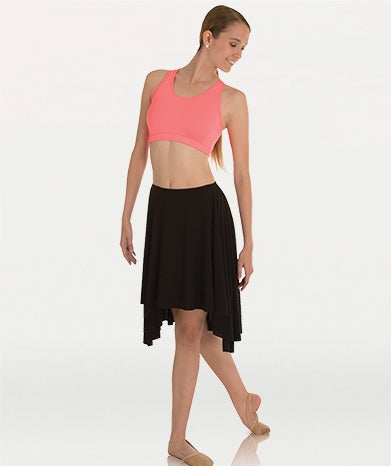 Body Wrappers Hi-Low Dance Skirt