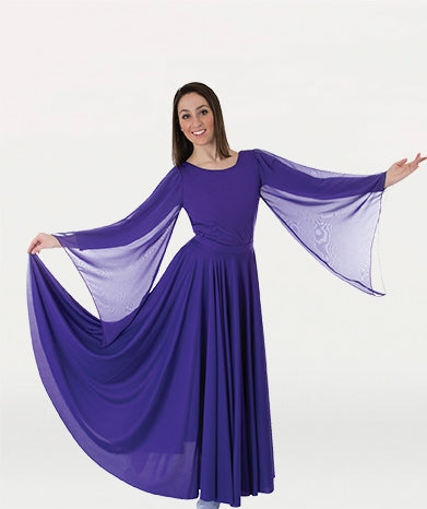Body Wrappers Adult Praise Dance Extra Full & Long Circle Skirt