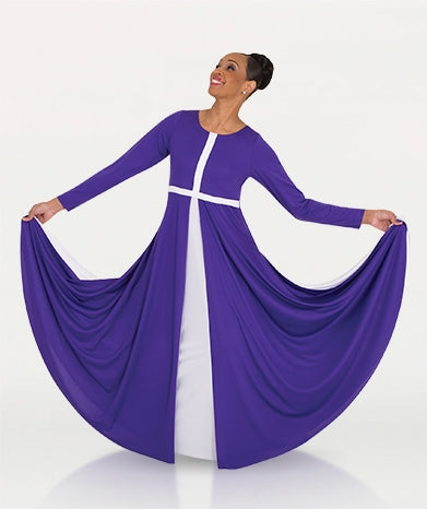 Body Wrappers Adult Worship Dance Cross Component