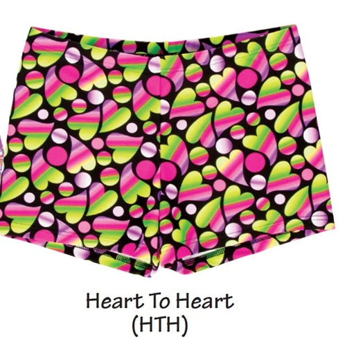 Body Wrappers Heart Dance Hot Shorts