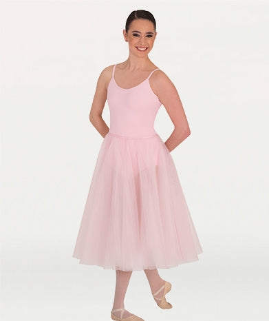 Body Wrappers Adult Below-The-Knee Tutu Skirt