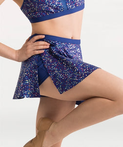 Body Wrappers Adult Dancing Sequin Skort