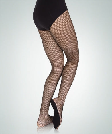 Body Wrappers Women's Professional Seamless Fishnet Dance Tights