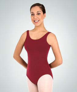 Body Wrappers Girls Cotton Tank Leotard