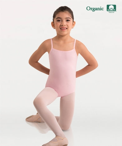 Body Wrappers Girls Organic Cotton Camisole Leotard