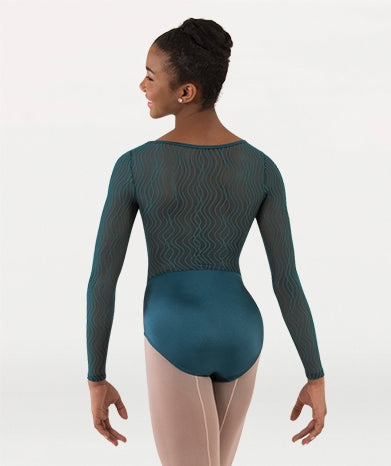 Body Wrappers Adult Long Sleeve Leotard