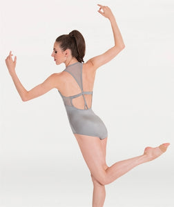 Body Wrappers PREMIER Pointella Mesh Racerback Leotard