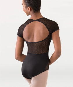 Body Wrappers Tween Cap Sleeve Leotard