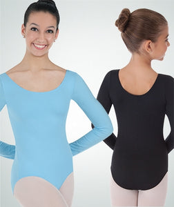 Body Wrappers Long Sleeve Leotard including Plus Size - Custom Colors