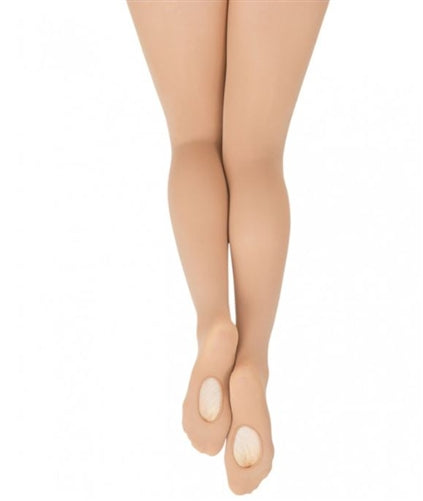 Capezio Women's Ultra Soft Low-Rise Transition Dance Tights