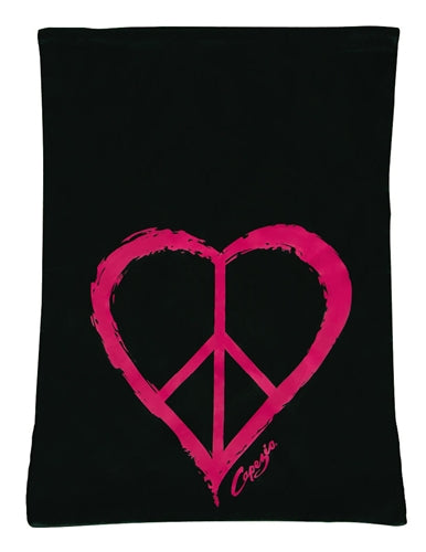 Capezio Love and Peace Drawstring Backpack Dance Bag
