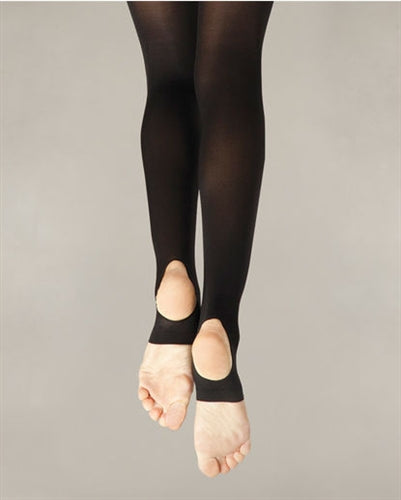 Capezio Women's Hold & Stretch Stirrup Dance Tights