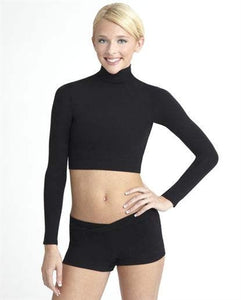 Capezio Adult Nylon Turtleneck Dance Top