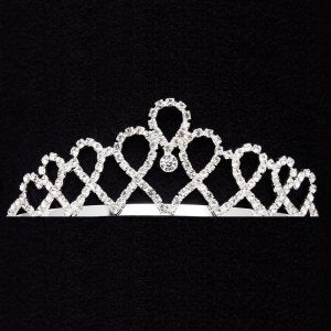 Dasha Looped Hearts Tiara