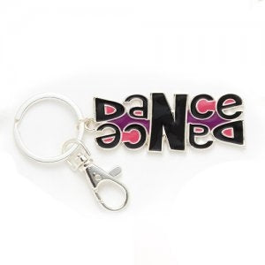 Dasha Double Dance Key Chain