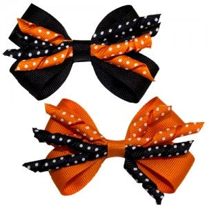 Dasha Halloween Four Way Bow