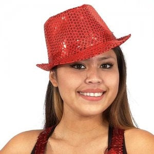 Dasha Sequin Fedora