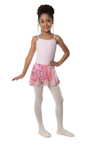 Danshuz Child Butterfly Chiffon Dance Skirt
