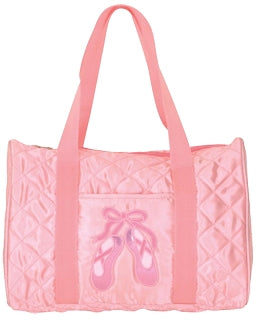 Quilted Ballet Slippers Duffel Dance Bag