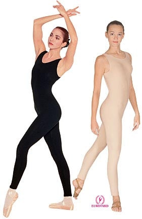 Eurotard Plus Size Cotton Tank Dance Unitard