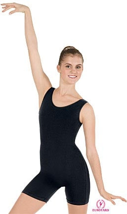 Eurotard Adult Cotton Dance Biketard including Plus Size, 2X, 3X, 4X