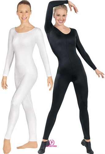 Eurotard Plus Size Microfiber Long Sleeve Dance Unitard