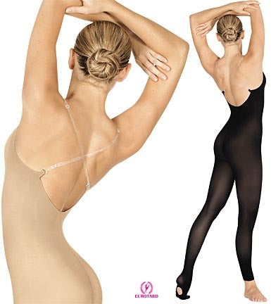 Eurotard Seamless Convertible Body Tights - Heavy Weight Microfiber