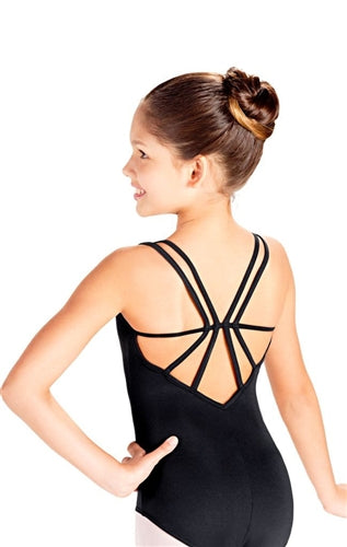 So Danca Double Strap Child Camisole Leotard with back Detail