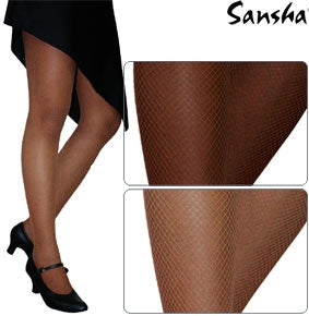 Sansha Women's Seamless Fishnet Dance Tights
