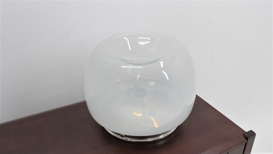 Hand-Blown glass table lamp Mazzega 1970