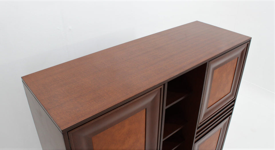 Italian design rosewood highboard 1960s