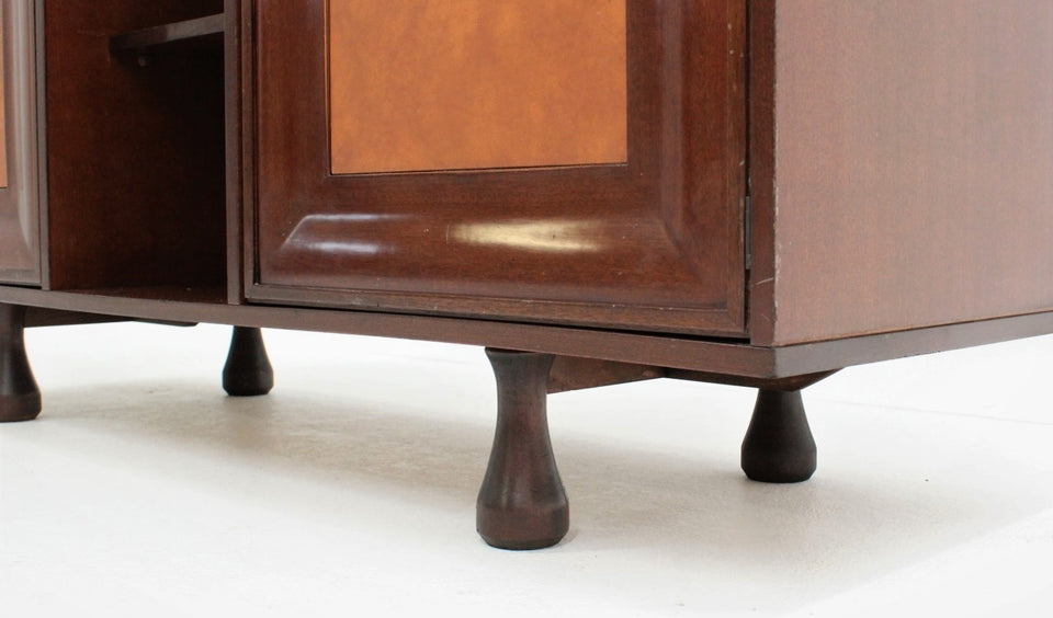 STILDOMUS design mahogany highboard 1960s