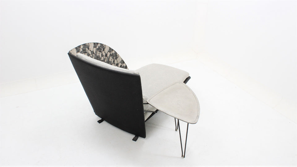 chaise loungue vintage Flexform