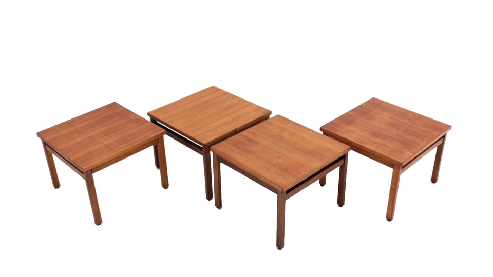 Italian coffee table Figli di Amedeo Cassina 1960 , set of 4
