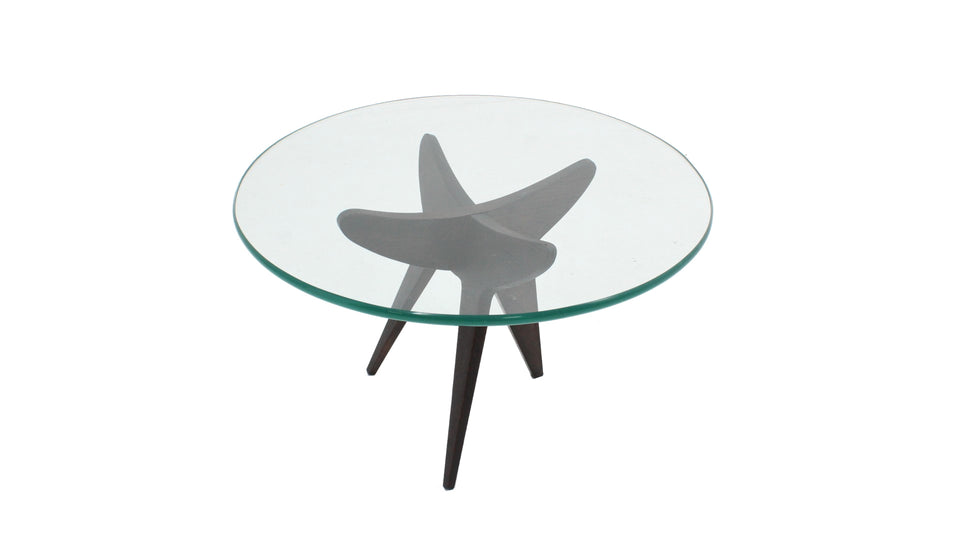Vintage french design coffee table 1950s