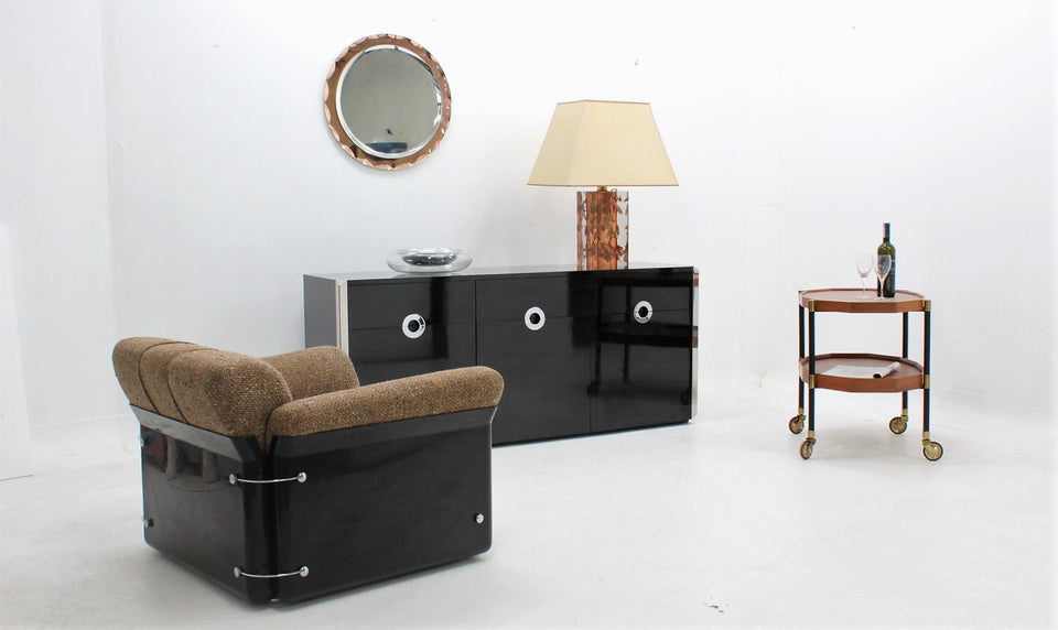 Willy Rizzo sideboard for Mario Sabot 1970s