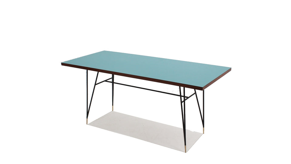 Italian vintage dining table 1950s