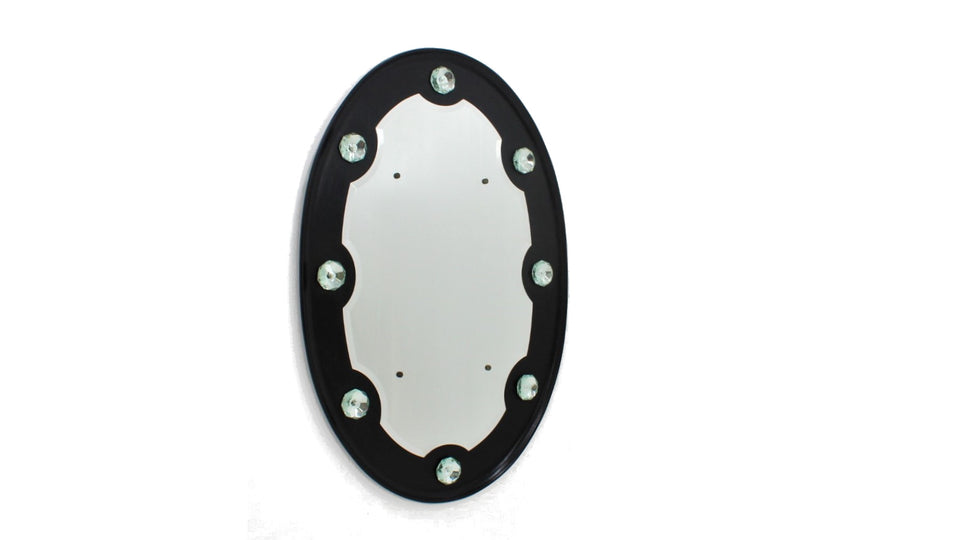 Italian design bevelled edge wall mirror