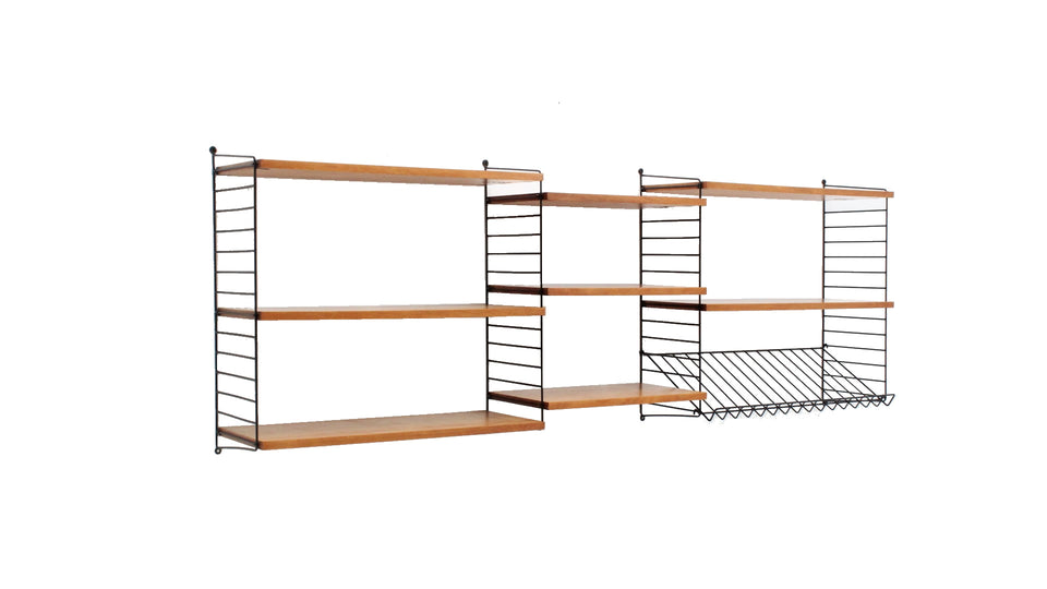 STRING system vintage shelves 1950s