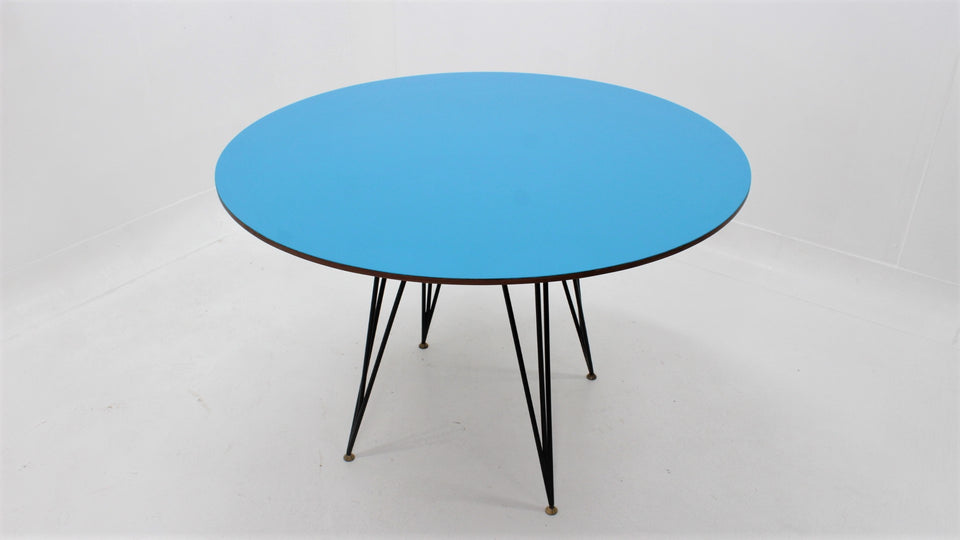 Carlo Ratti round dining table 1950s