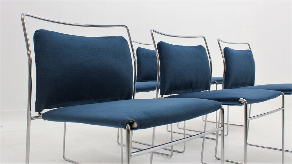 Gavina Tulu chairs by KAZUHIDE TAKAHAMA, set of 6