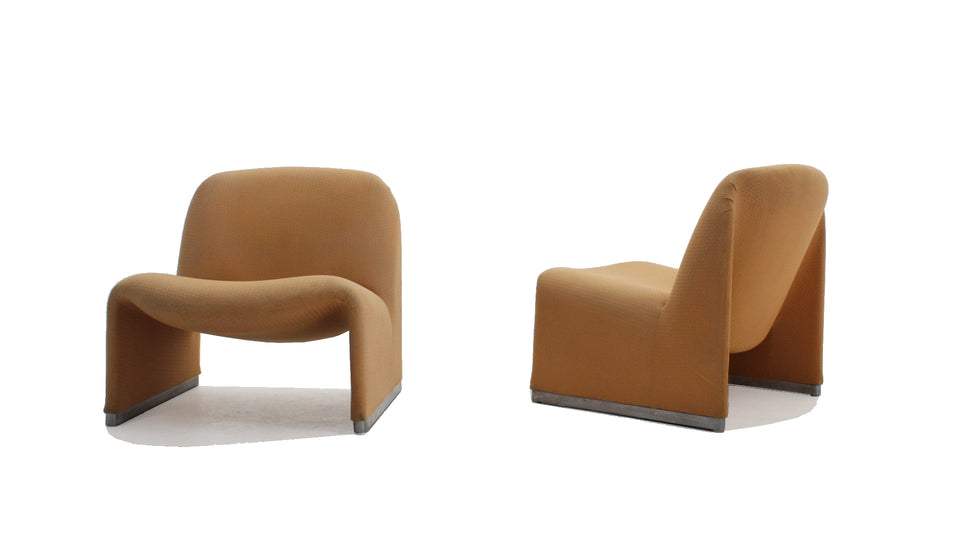 ALKY armchairs G. Piretti for CASTELLI 1960, set of 2
