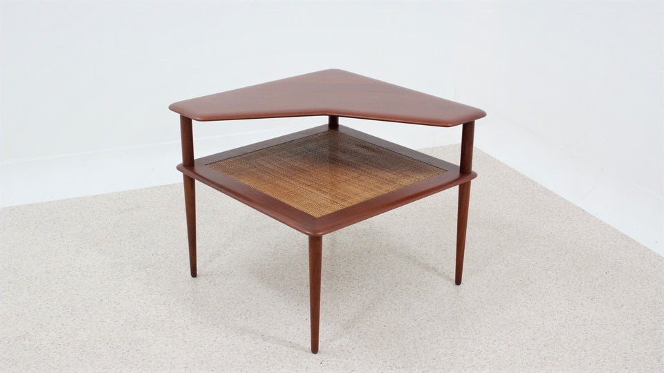 Teak coffee table Peter Hdvith and O. Molgaard for France and Sons 1960s