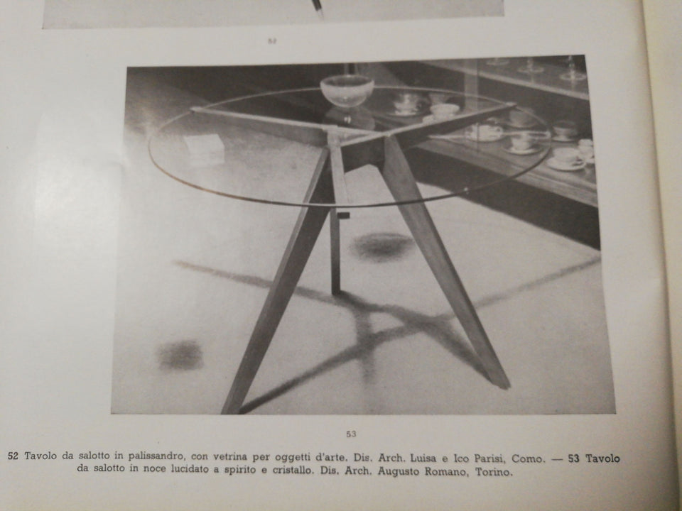 Augusto Romano design coffee table 1950s