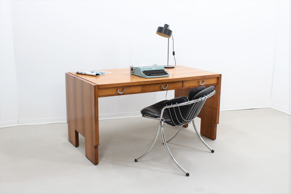 Mid-Century Italian Rationalist Writing Desk